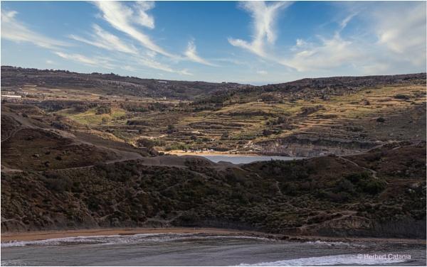 Gnejna Bay by Herbert_Catania