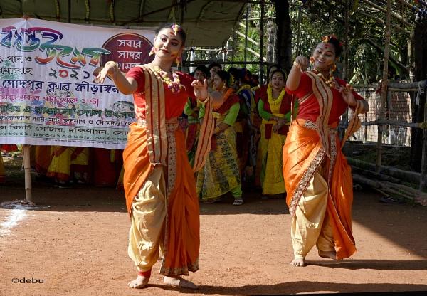 Holi dance celebration..8 by debu