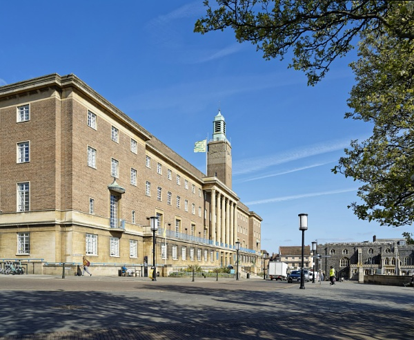 Norwich City Hall and Guildhall by pdunstan_Greymoon