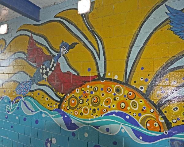 Subway Graffiti by Ted447