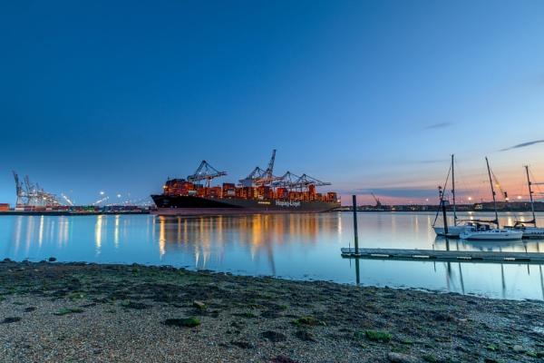 Docks Reflecting by NickLucas