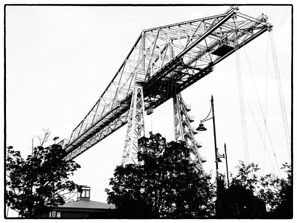 Transporter Bridge by DaveRyder