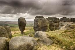 The Bridestones Revisited