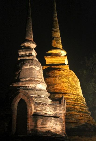 Stupas by mikekay
