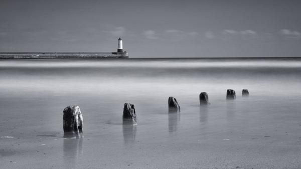 Spittal Beach Groynes by Leedslass1