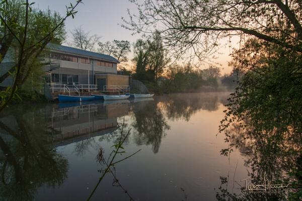 Dawn River Avon Salisbury by IainHamer