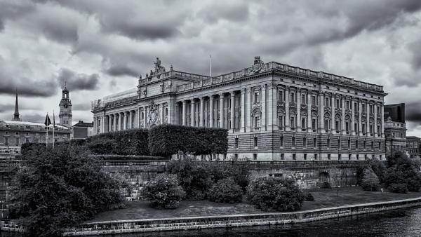 The Swedish Parliament by Xandru