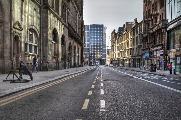 Glasgow, Hope Street by AndrewAlbert