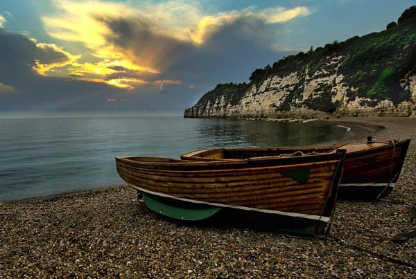 Dorset Fishing Boats by mmart