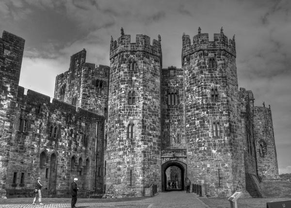 Anwick Castle by harrywatson