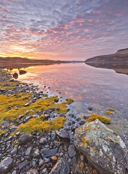 Loch Slapin by pink