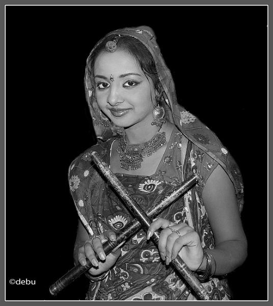 Dandiya Dance Artist by debu