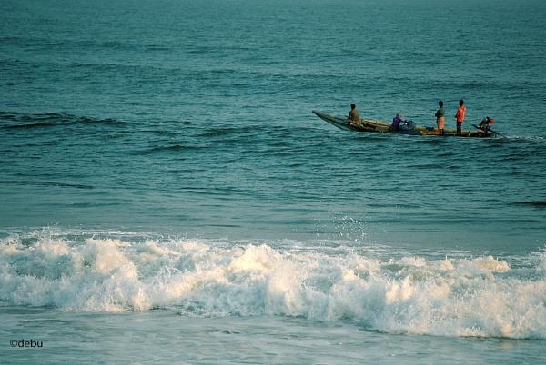 Deep sea fishing by debu