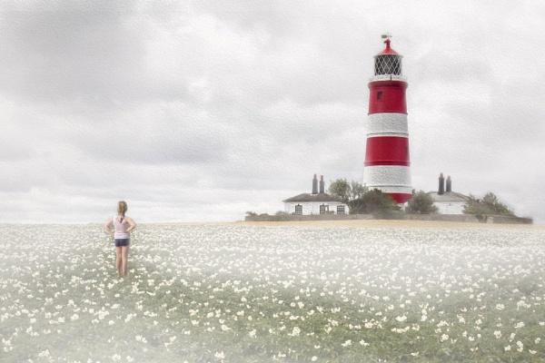 Happisburgh lighthouse by HelenaJ