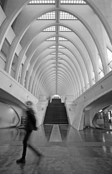 Liège-Guillemins railway station, Belgium