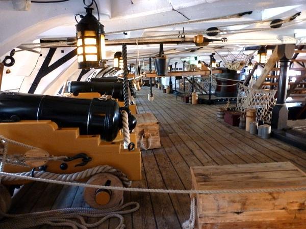 HMS Victory. Gun Deck.     Portsmouth by Don20