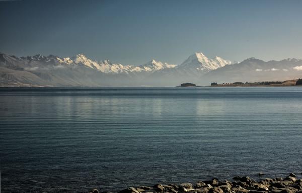 Aoraki Mt. Cook.  NZ (I) by barryyoungnz