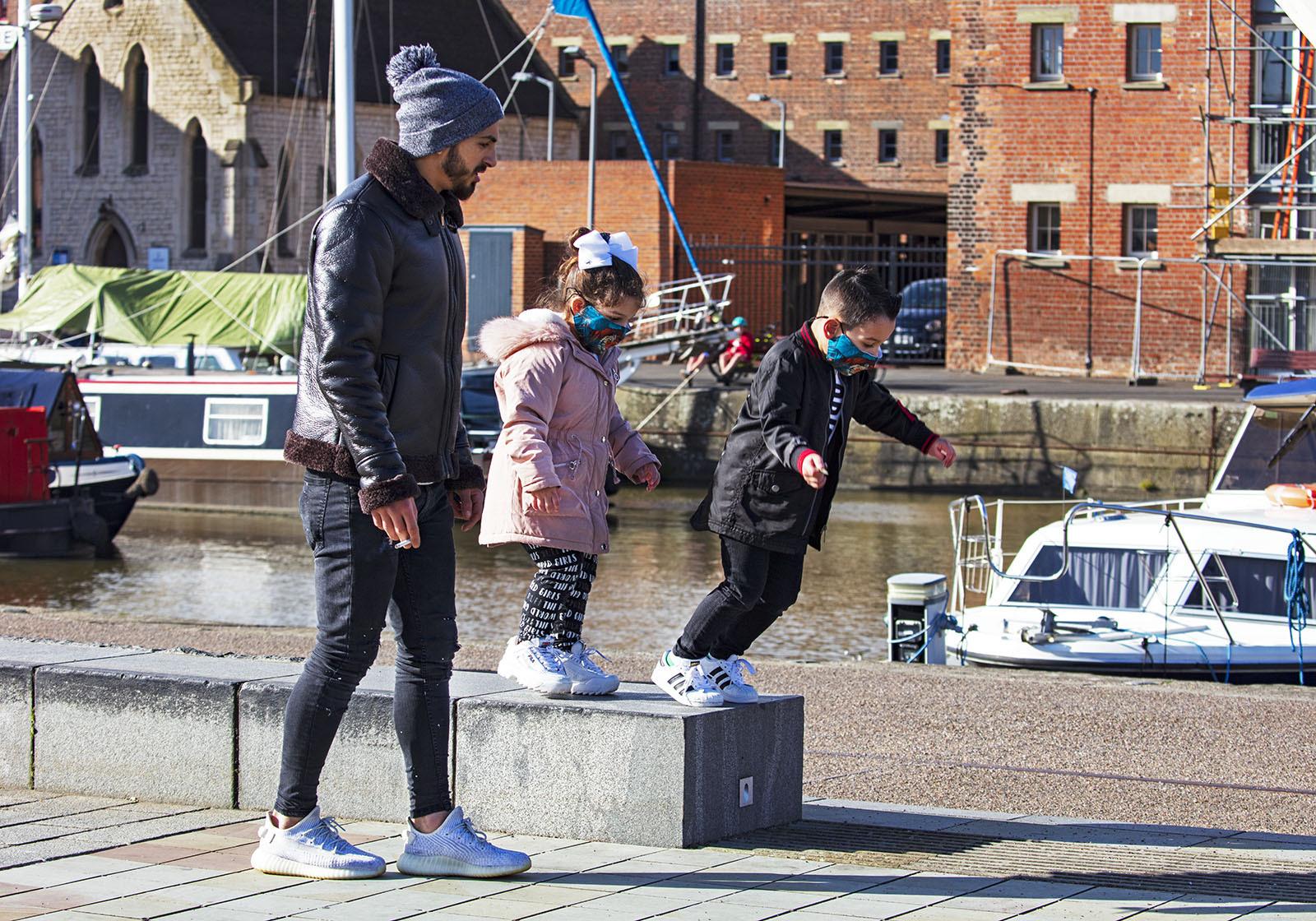 Leap of Faith - Gloucester Docks U.K.