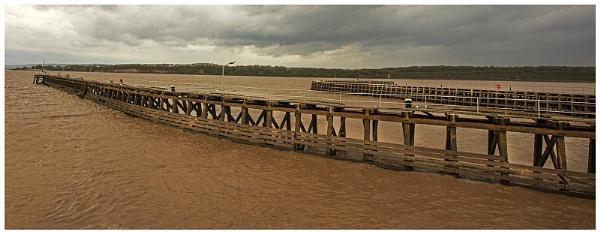 Sharpness Docks Entrance _ Glos. by VincentChristopher