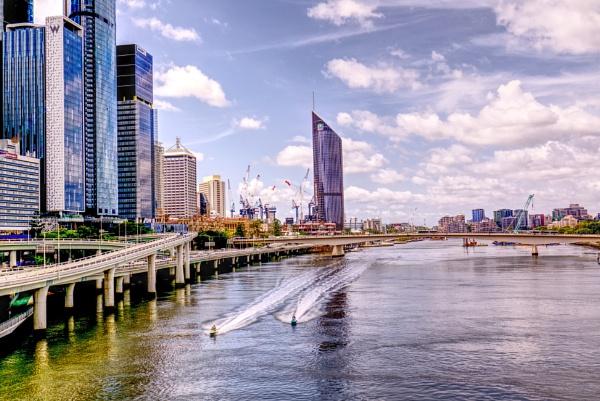 Brisbane River by Peco
