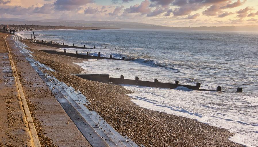 Man Made Seaside !