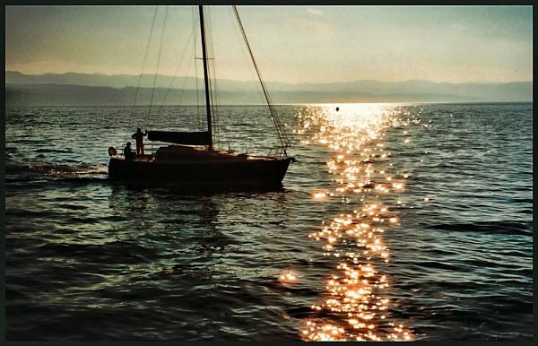 Off The Croatian Coast. by rfhfoto