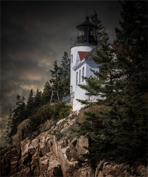 Bass Harbour Head Light by KingBee