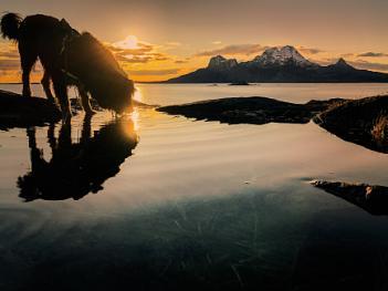 Sunset in Bodø