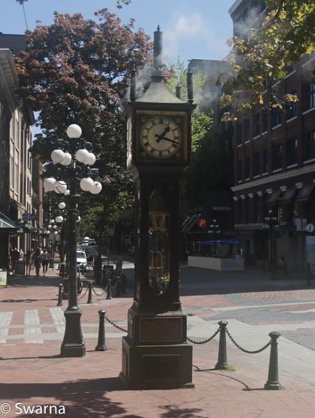 Steam Clock, Gastown... by Swarnadip