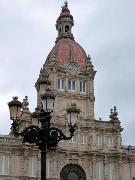 City Hall. La Coruna. Spain by Don20