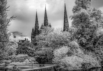 Three Spires Lichfield Cathedral
