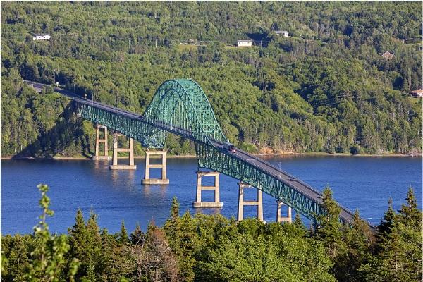 Seal Island Bridge _Cape Breton Nova Scotia Canada by VincentChristopher