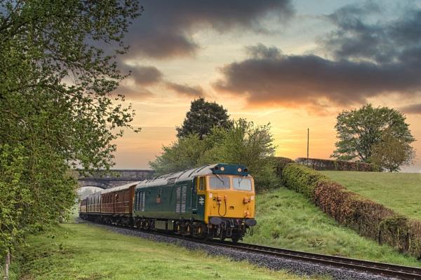 Diesel Train by Adrian57
