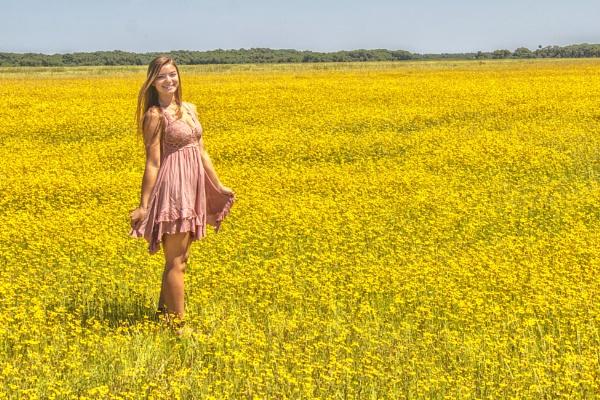 Standing in a field of wildflowers by jbsaladino