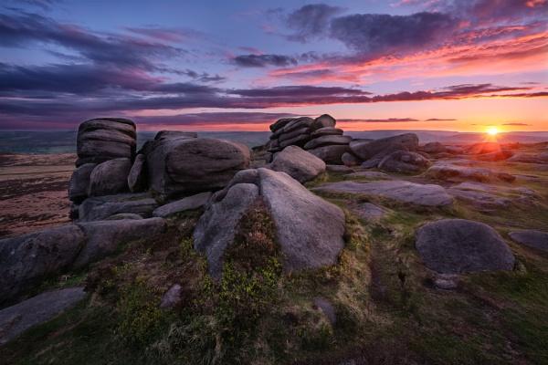 Higger Tor sunset1 by DaveShandley