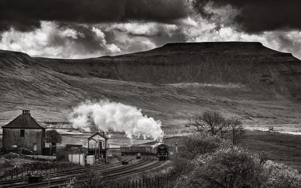 Steam Train at Blea Moor by Pete2453