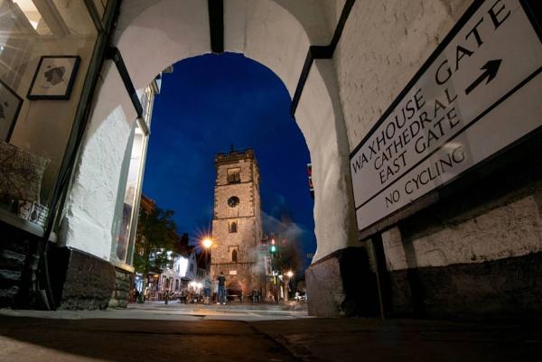 St Albans clocktower at night by stephaniebelton