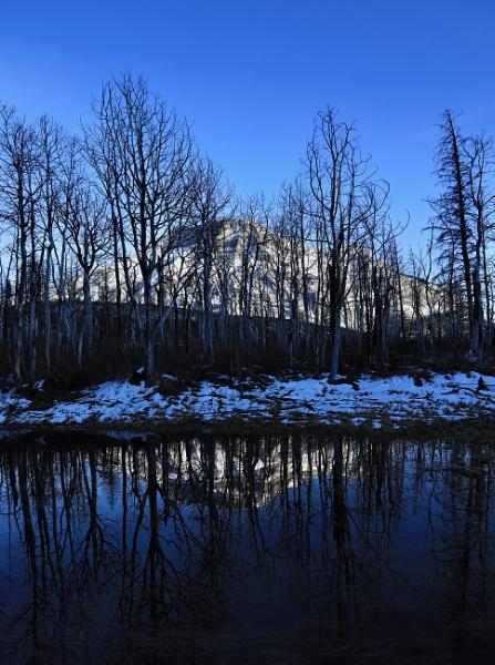 Pond mountain by waltknox