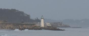 Lighthouse on Santa Cruz Beach