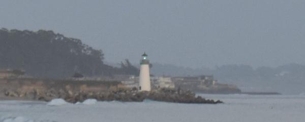 Lighthouse on Santa Cruz Beach by jube1969