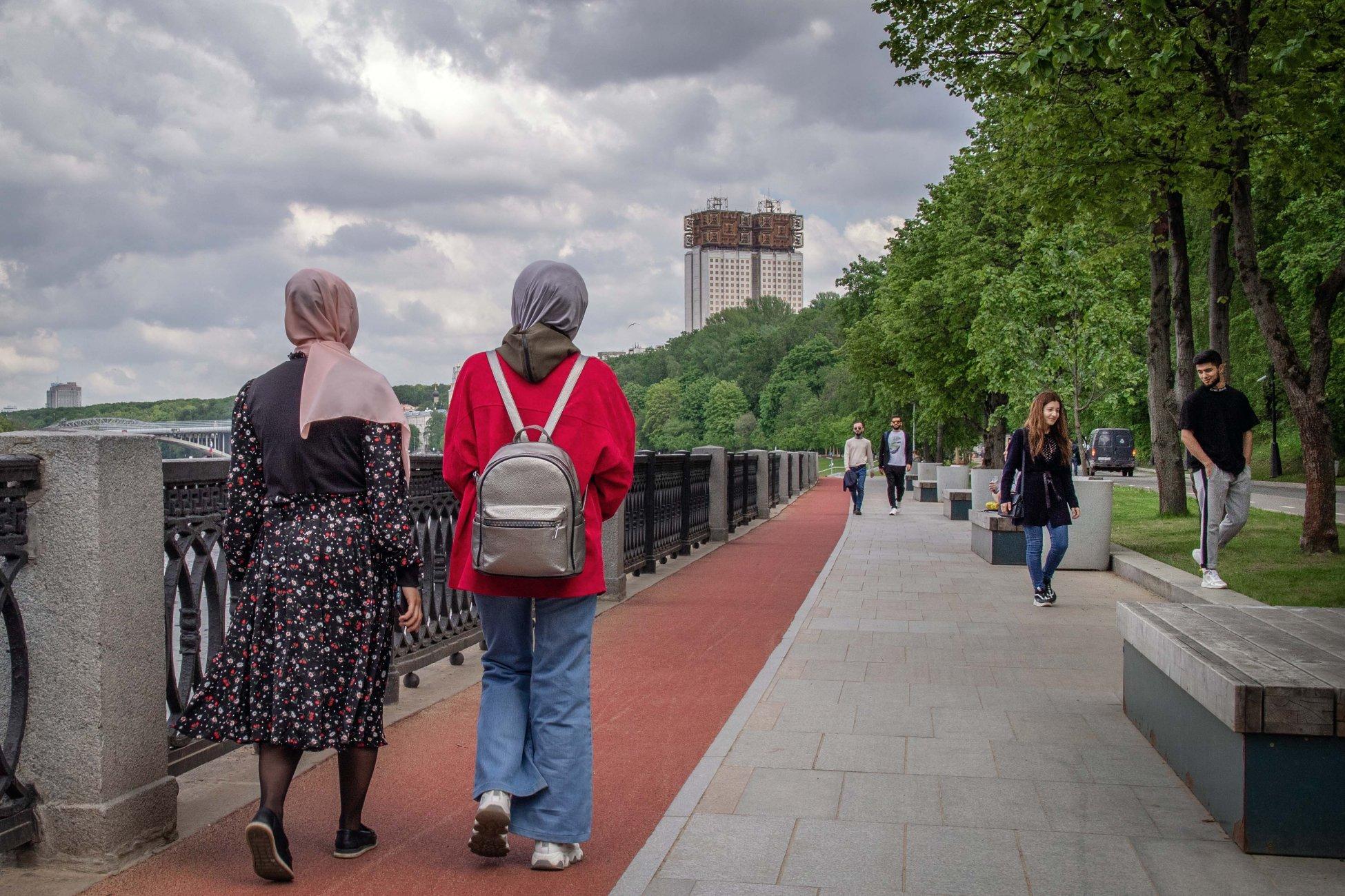 Moscow walks