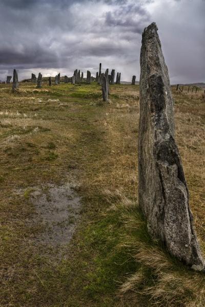 Calanais Standing Stones by AndrewAlbert