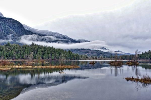 Cheam Wetlands, B.C. by Friendlyguy