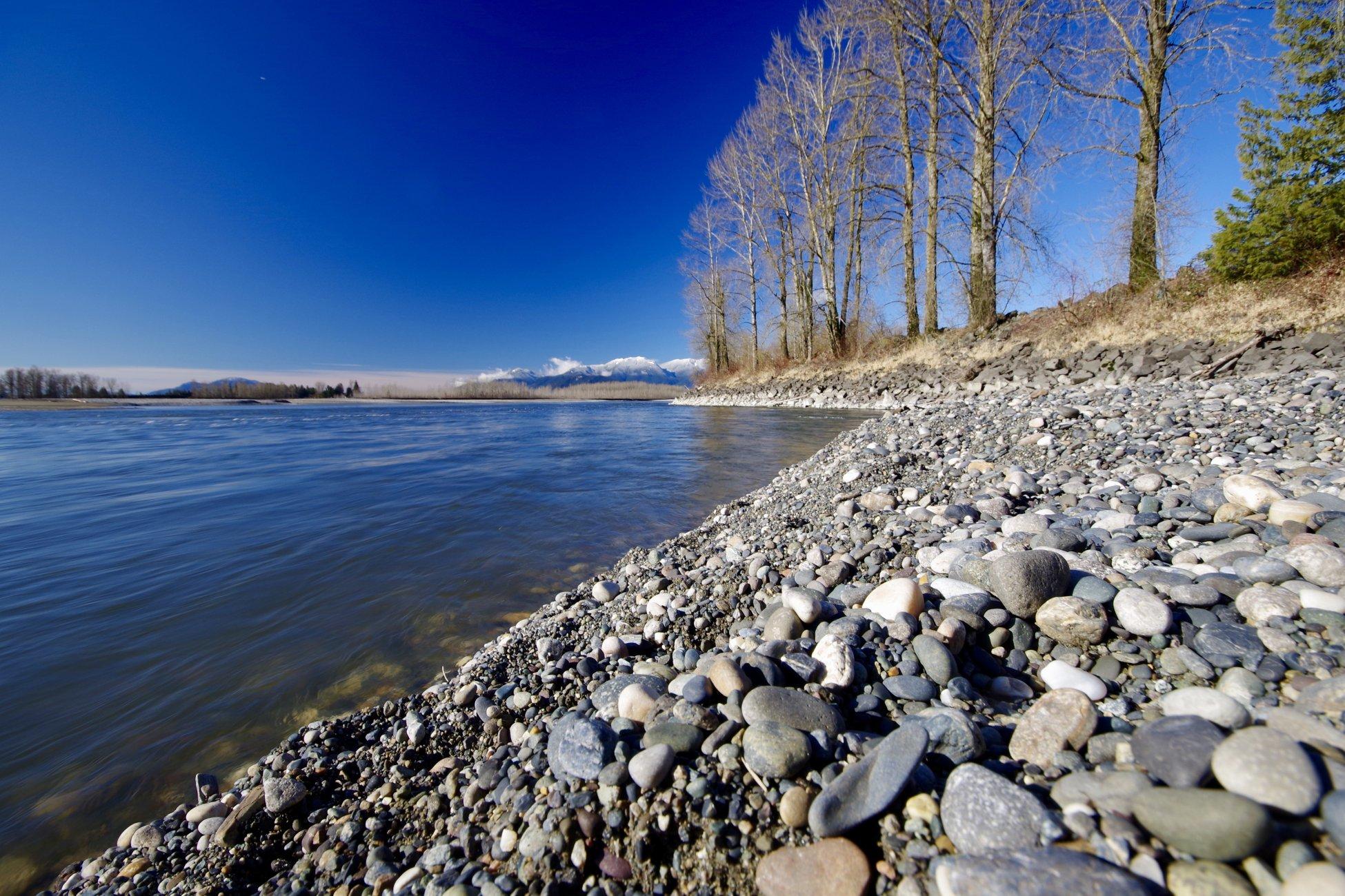 """Fraser River Rocks"""