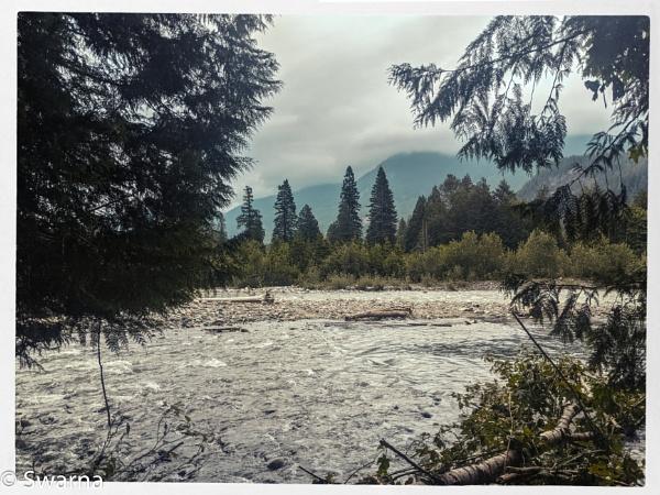 Fraser River, Hope BC by Swarnadip