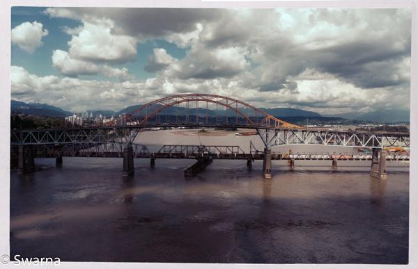 Pattullo Bridge... by Swarnadip