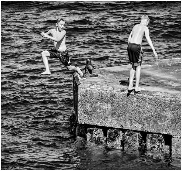 Go On, Jump by mac