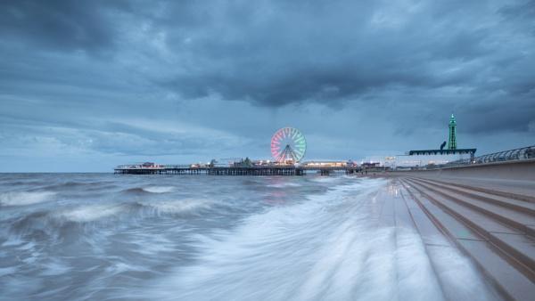 Blackpool Seascape by Philpot