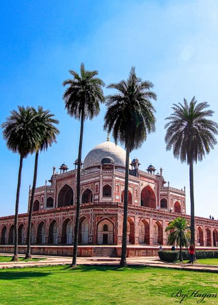 Humayun\'s Tomb,Delhi ,India. by ByHayan