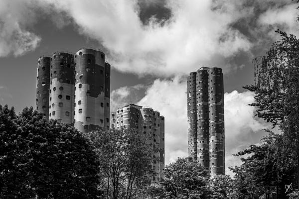 Social housing near la Defense - Paris by chataignier
